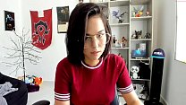 Teen Laura auf der Webcam!